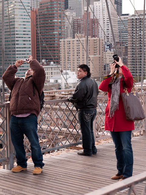 Photographing the Brooklyn Bridge