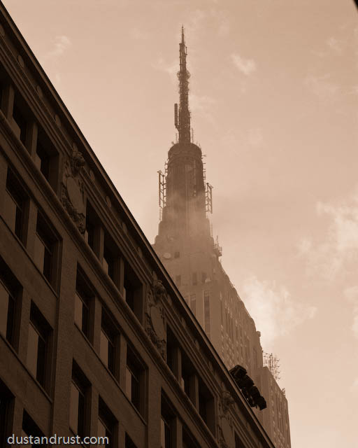 Empire State Building, early morning