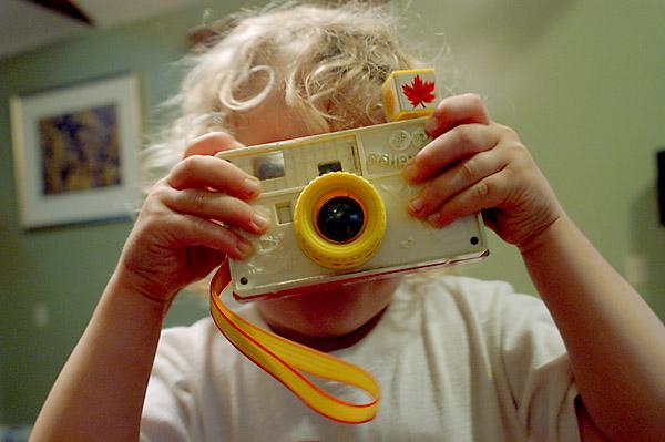 Evan and his camera