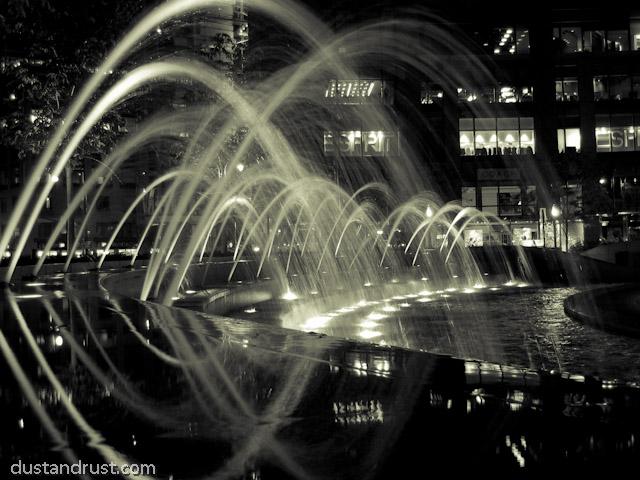 Fountains at Columbus Circle