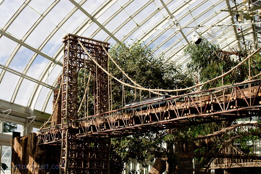 New York Botanical Garden Train Show