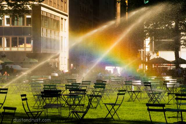 Bryant Park Rainbow
