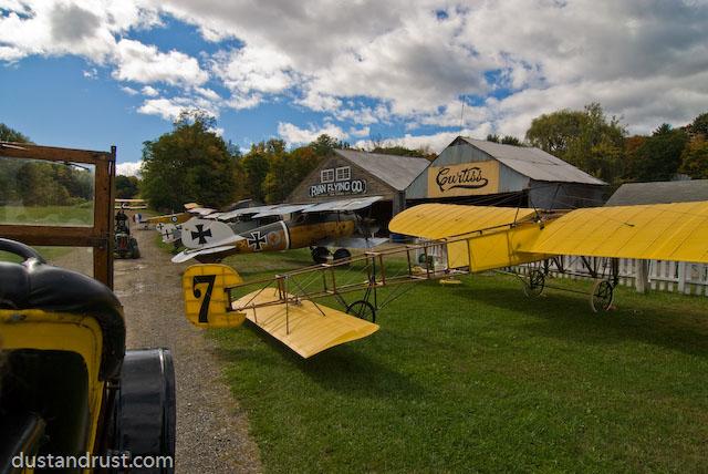 Old Rhinebeck Flightline - Tokina 12-24 - Nikon D200