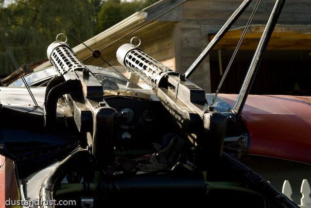 Fokker DR.I Guns - Nikon 28-105 - Nikon D200
