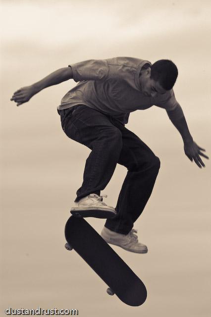 Skateboarder, NYC South Street Seaport